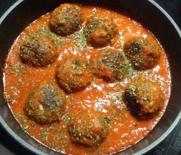 Recept voor Spaanse gehaktballetjes. Albondigas (tapas)