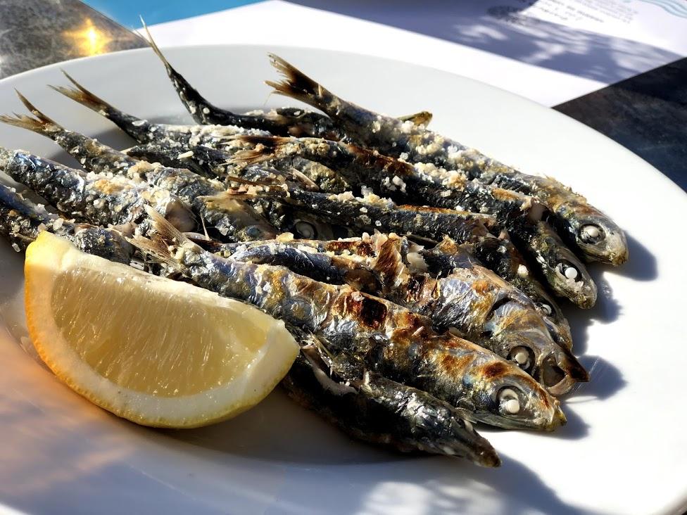 recept voor gegrilde Spaanse sardientjes (tapas)