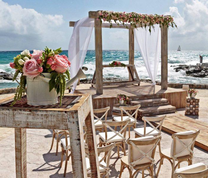 Een Andalusische bruiloft op het strand