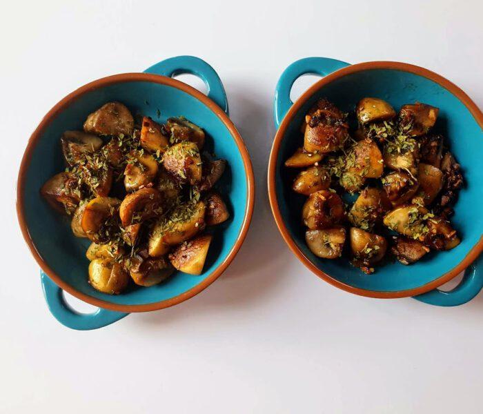Recept voor gebakken knoflookchampignons – tapas