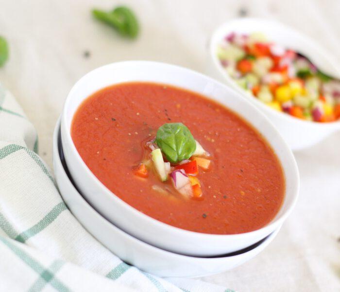 Recept voor Spaanse gazpacho